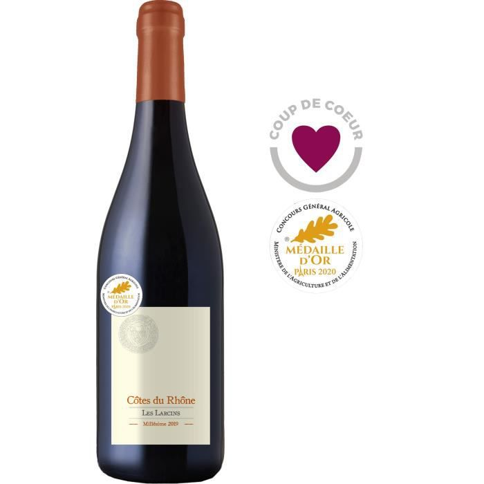 Les Larcins 2019 Côtes du Rhône - Vin rouge de la Vallée du Rhône