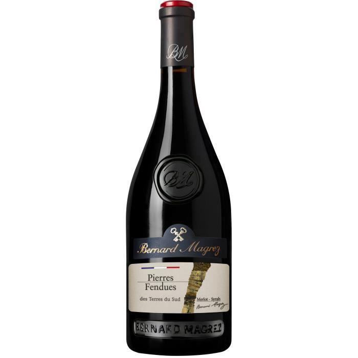 Bernard Magrez Les Pierres Fendues 2019 IGP Pays d'OC - Vin rouge du Languedoc-Roussillon