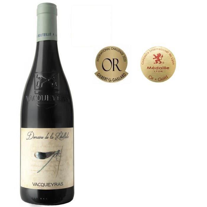 Domaine de la Libellule 2020 Vacqueyras - Vin rouge de la Vallée du Rhone