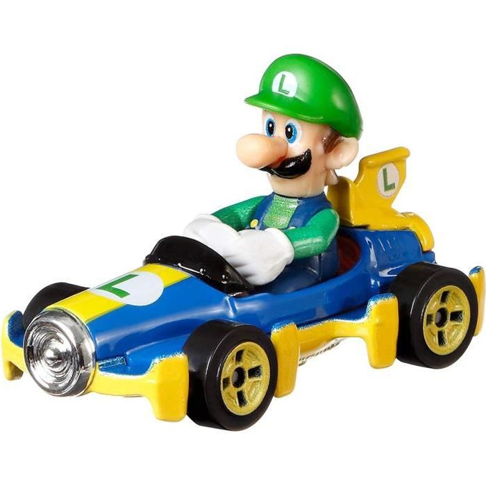HOT WHEELS Mario Kart - Luigi - 3 ans et +