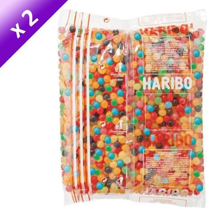 [LOT DE 2] HARIBO Sac 2kg Dragibus Vrac