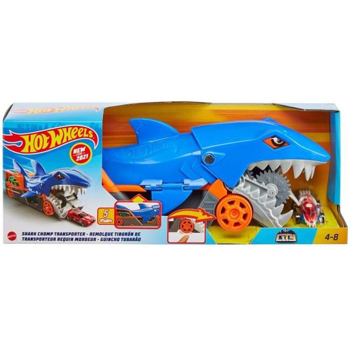 HOT WHEELS Requin Transporteur