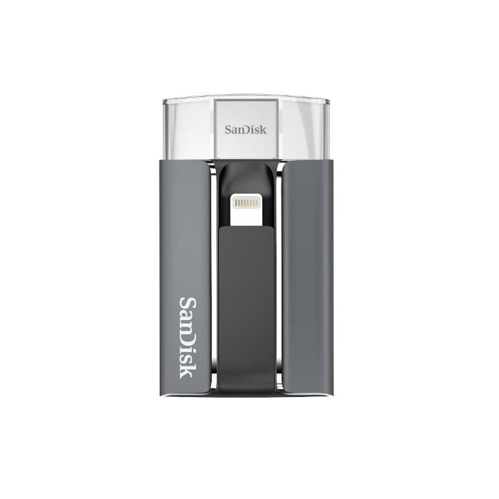 SanDisk iXpand™ Flash Drive 32Go compatible iPhone