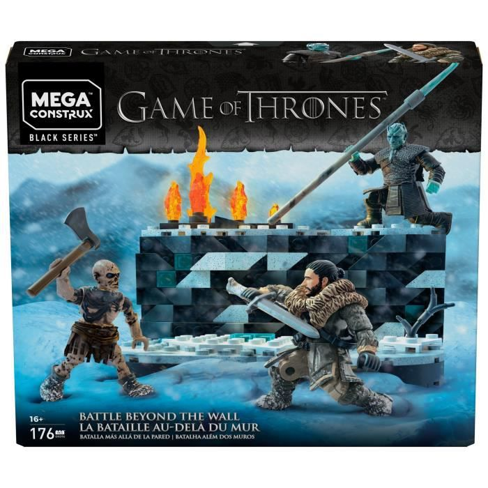MEGA CONSTRUX Game of Thrones La Bataille de Winterfell - 176 pièces