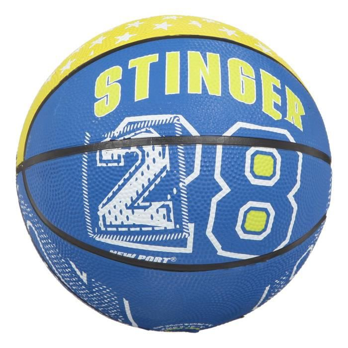 NEW PORT Mini-ballon de basketball - Noir