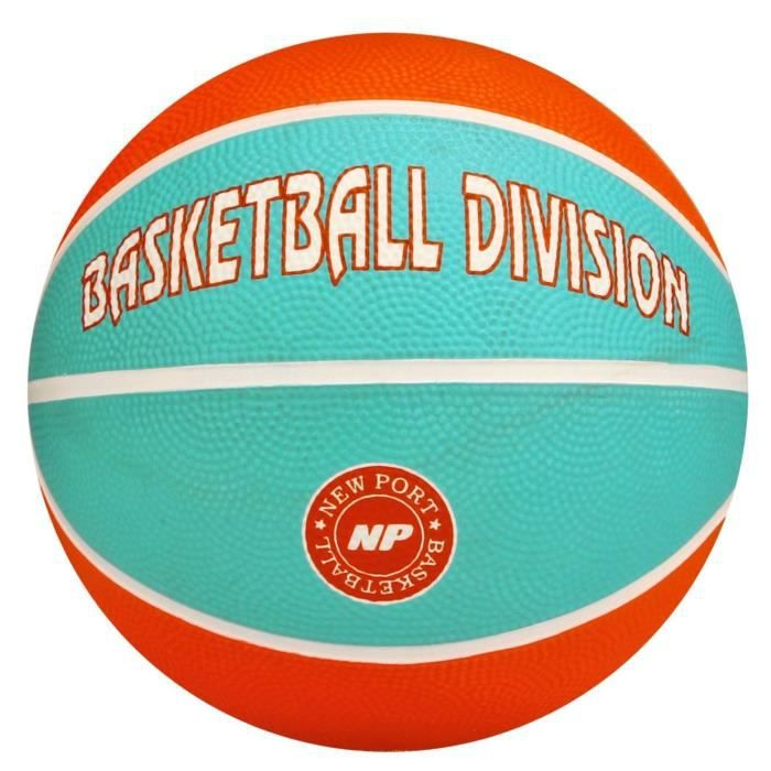 NEW PORT Mini-ballon de basketball - Orange