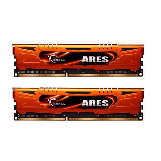 Gskill Mémoire Pc Ram Ares Ddr3 16Go 1600Mhz (F3 1600C10d 16Gao)