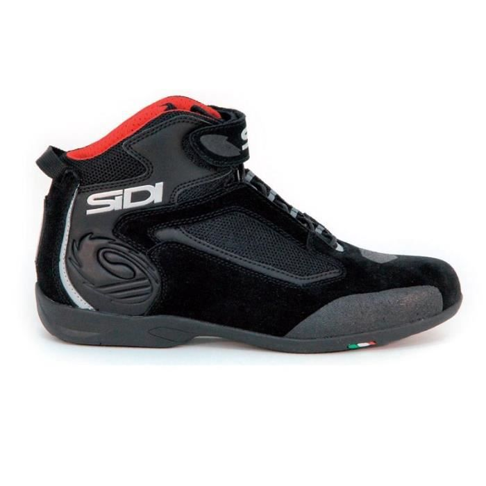 SIDI Chaussures Moto Gas Noires