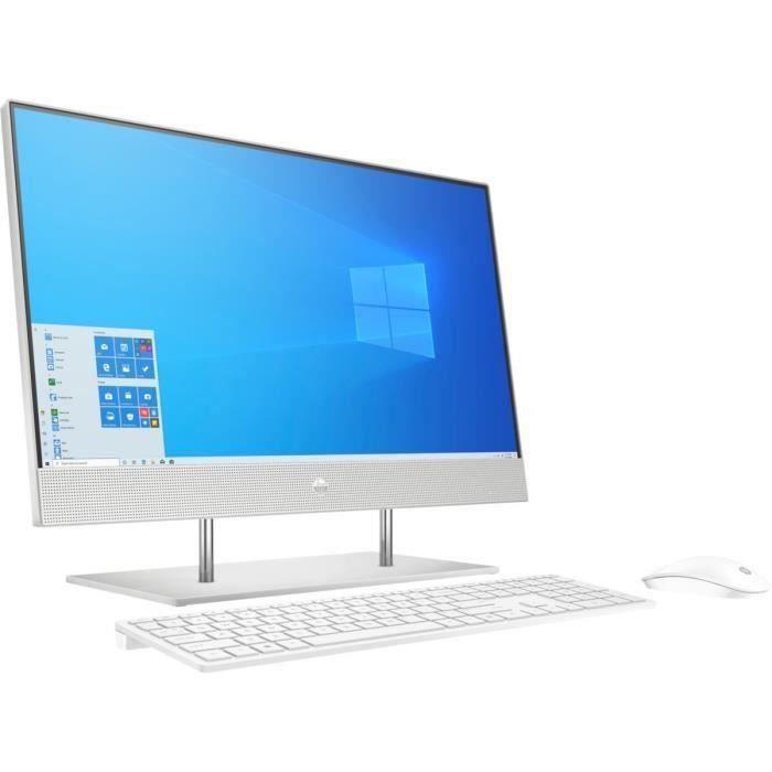 HP PC Tout en un - 24-FHD - Ryzen 5 4500U - RAM 16Go - Stockage 512Go SSD + 1To HDD - Windows 10
