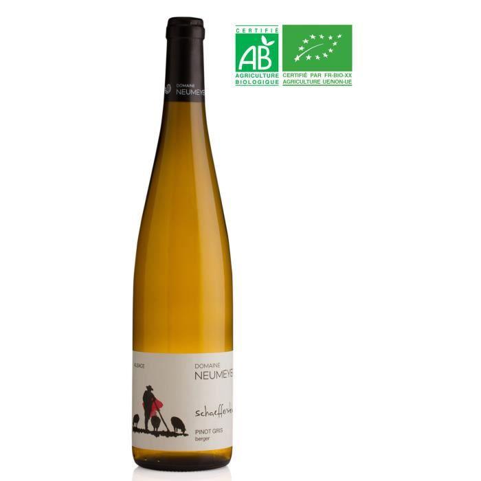 Domaine NEUMEYER 2017 Pinot Gris - Vin blanc d'Alsace - Bio