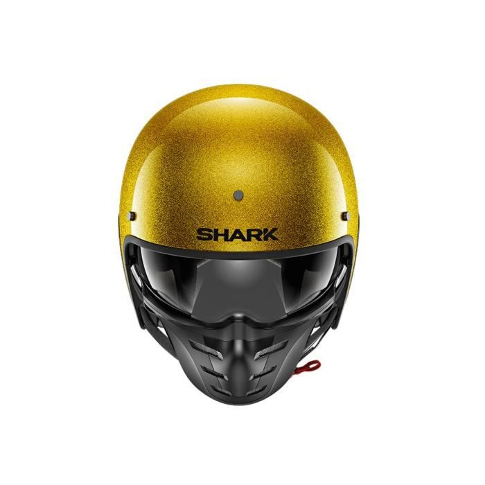 SHARK Casque moto Jet S-Drak - Or pailleté