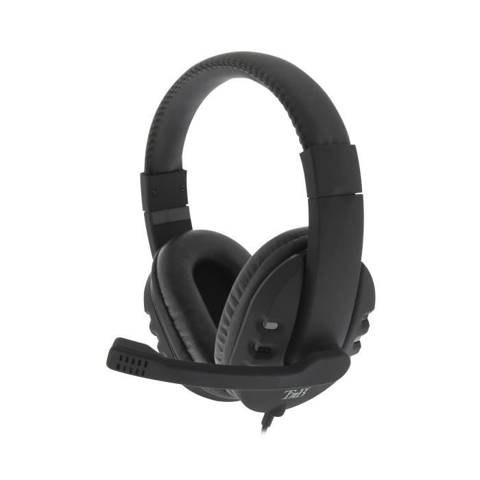 T'nB casque-micro Flight