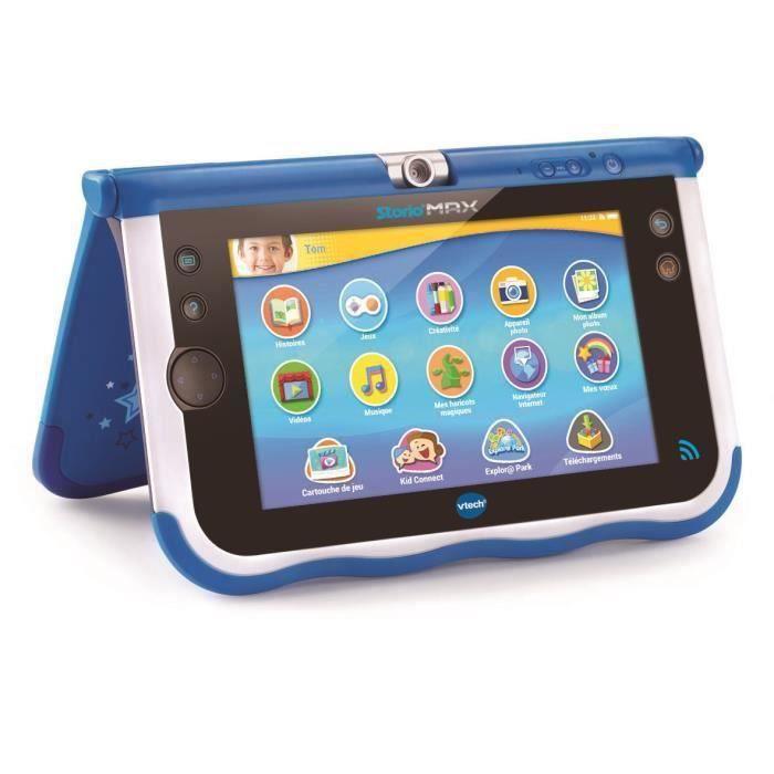 VTECH - Console Storio Max 7- Bleue - Tablette Éducative Enfant 7 Pouces