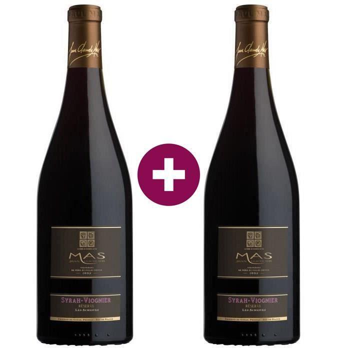Jean Claude Mas Réserve Pays d'Oc Syrah-Viognier - Vin rouge de Languedoc