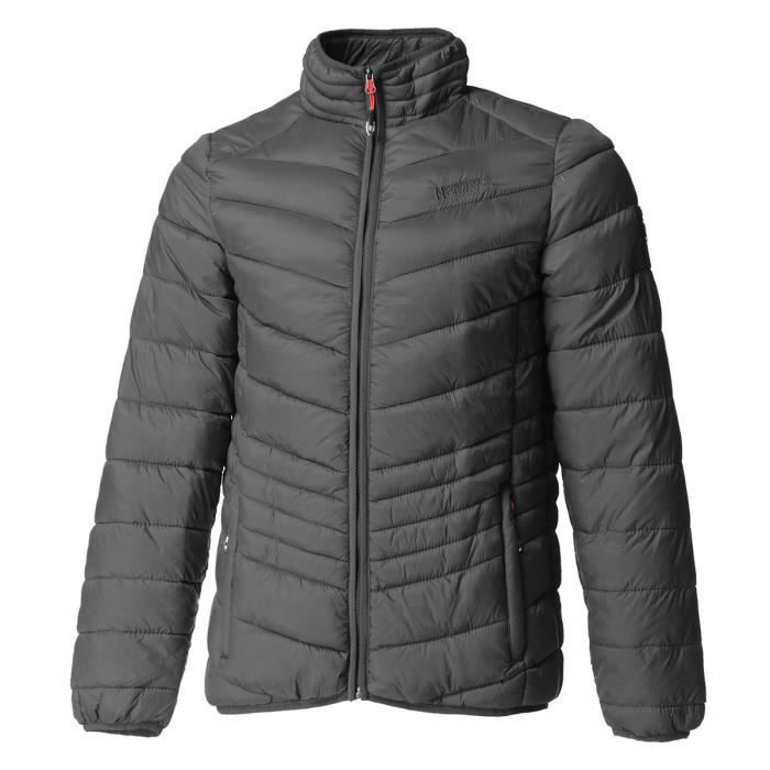 GEOGRAPHICAL NORWAY Doudoune Damiel Basic 001 BS - Homme - Gris foncé