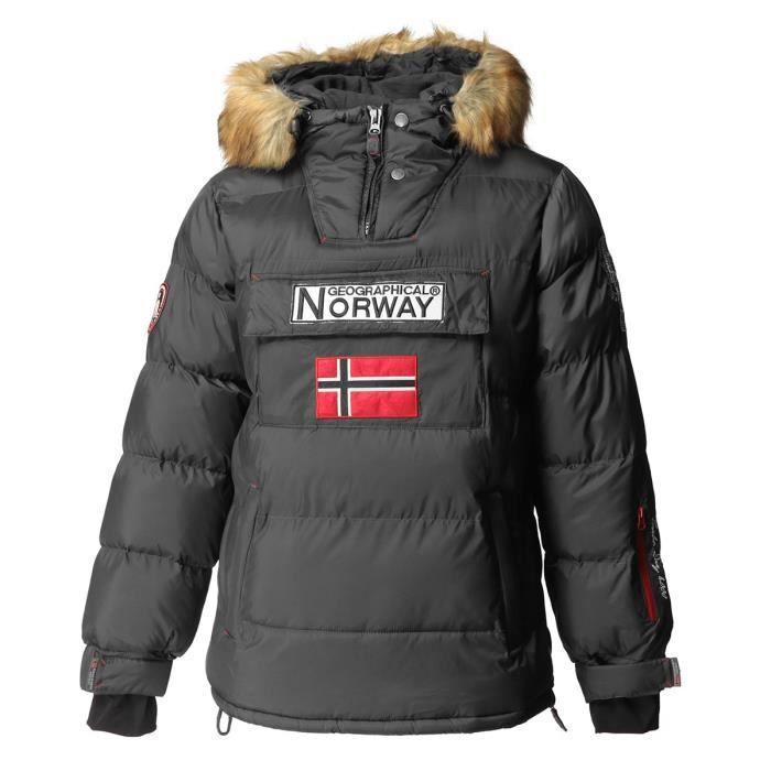 GEOGRAPHICAL NORWAY Doudoune Bilboquet 001 - Homme - Gris foncé