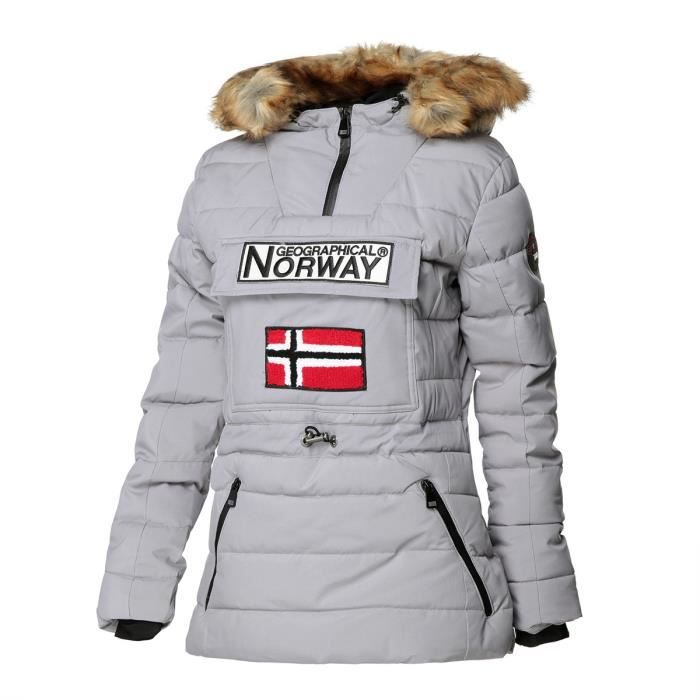 GEOGRAPHICAL NORWAY Doudoune Matellassée Femme Belinda New 001