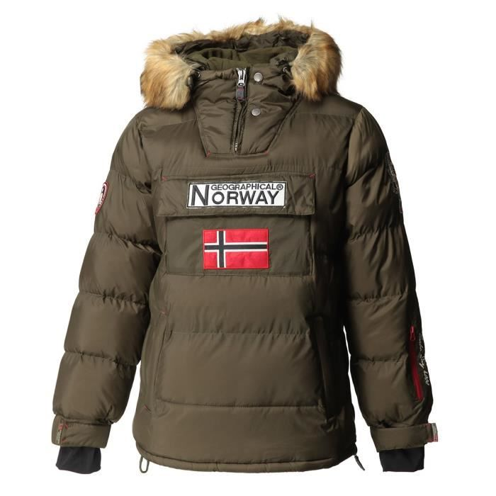 GEOGRAPHICAL NORWAY Doudoune Bilboquet 001 - Homme - Kaki