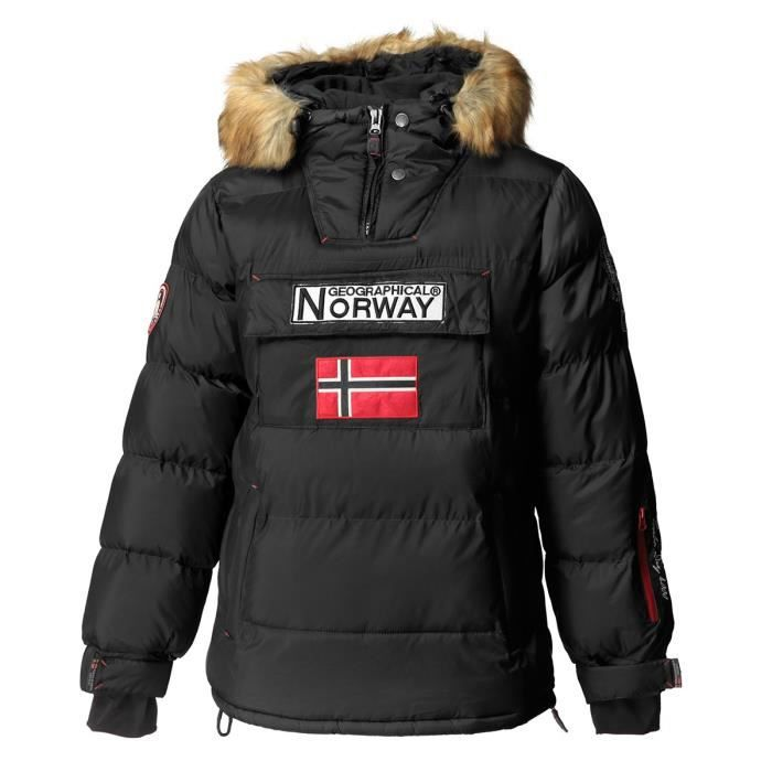 GEOGRAPHICAL NORWAY Doudoune Bilboquet 001 - Homme - Noir