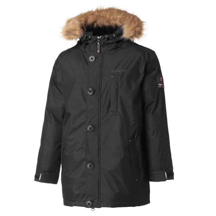GEOGRAPHICAL NORWAY Parka Agada 079 - Homme - Noir