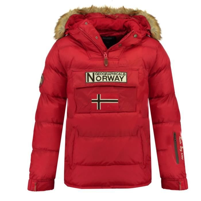 GEOGRAPHICAL NORWAY Doudoune Bilboquet 001 - Homme - Rouge