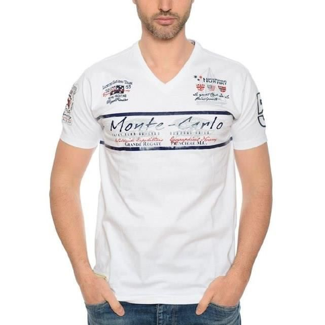 GEOGRAPHICAL NORWAY T-Shirt Jasmin Homme