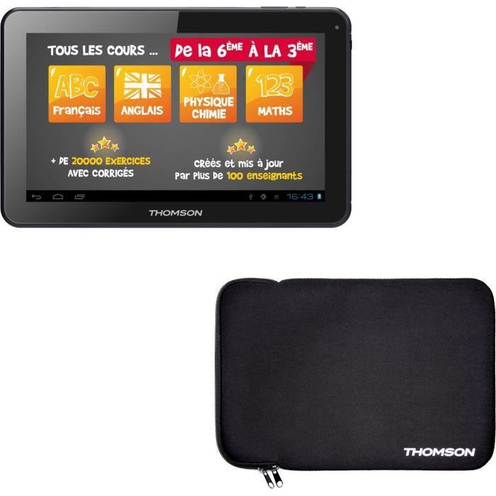Thomson Tablette tactile Teo Qd10bk8egre 10