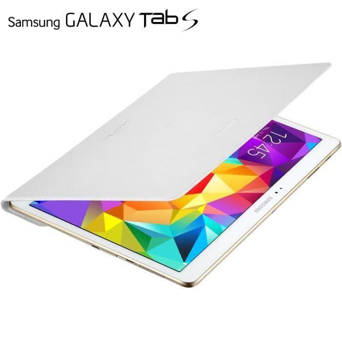 Samsung Cover Blanc pour Galaxy Tab S 10''