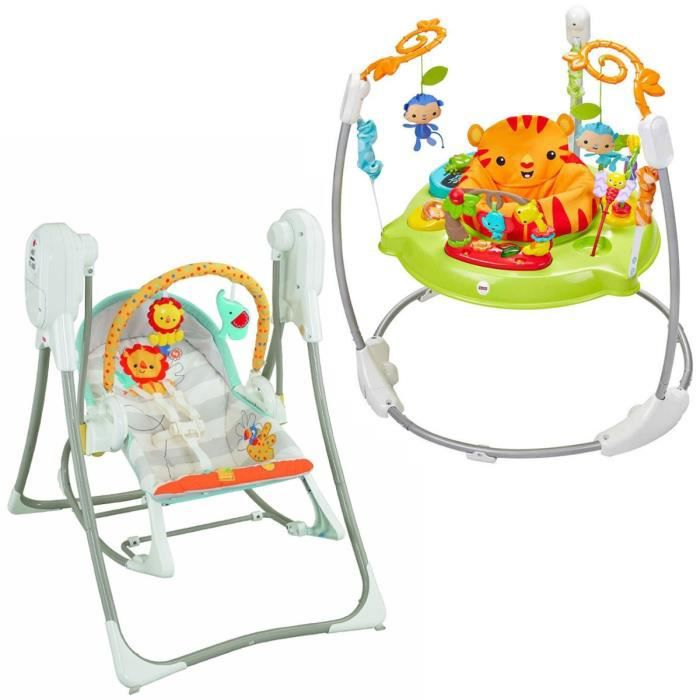 balancelle de la jungle fisher price balancelle bebe au. Black Bedroom Furniture Sets. Home Design Ideas