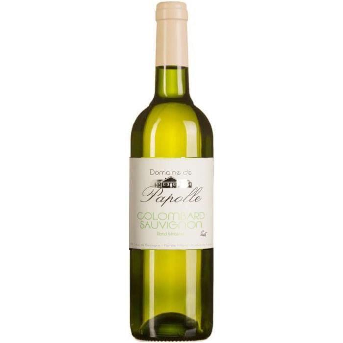 Domaine de Papolle 2017 Côtes de Gascogne - Vin blanc du Sud-Ouest