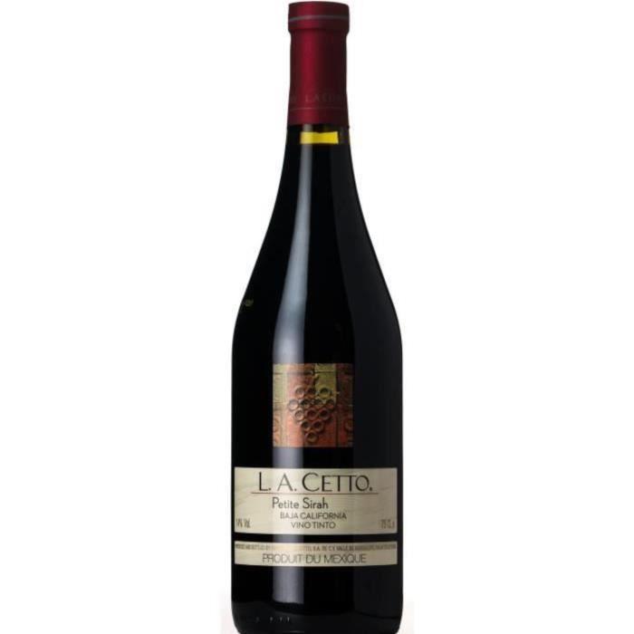 L.A. Cetto 2017 Petite Sirah Baja California - Vin rouge du Mexique