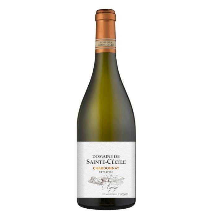 Domaine Sainte Cécile 2019 IGP Pays D'Oc - Vin blanc du Languedoc - Roussillon