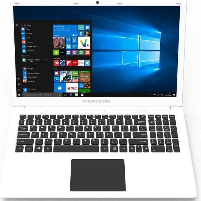 Ordinateur Portable - THOMSON NEO17C-8WH1T - 17,3 pouces HD+ - Celeron N3350 - RAM 8Go - Stockage 1To HDD - Windows 10