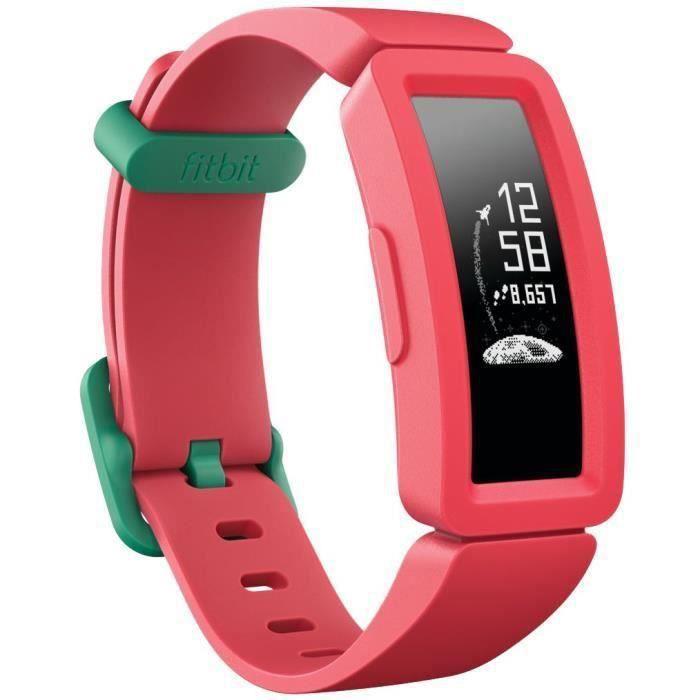 FITBIT Ace 2 - Bracelet d'activité junior à partir de 6 ans - Pastèque et Vert