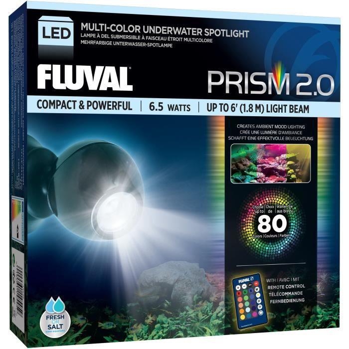 FLUVAL Lampe 6,5W RGB LED Spot Light - Pour poisson