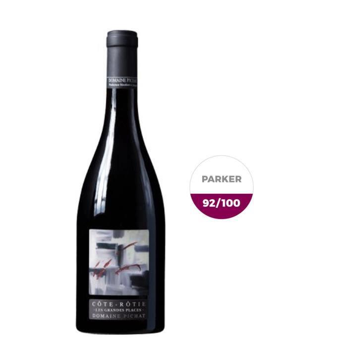 Domaine Stéphane Pichat 2014 Côte-Rôtie Les Grandes Places - Vin rouge des Côtes du Rhône