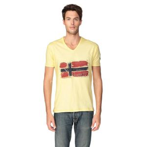 GEOGRAPHICAL NORWAY T-shirt Jacardi Homme