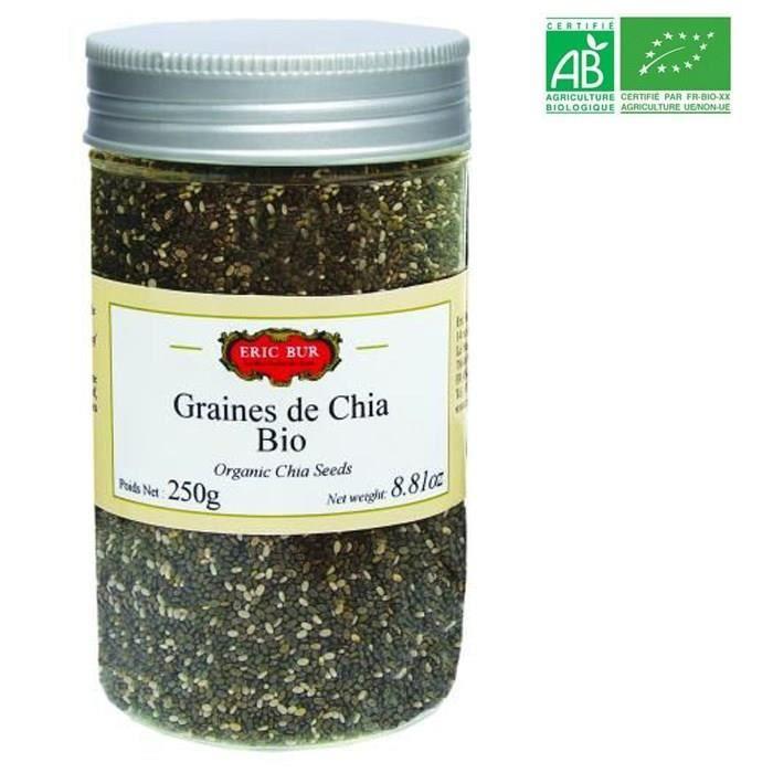 ERIC BUR - Graines de Chia - BIO - 250 G