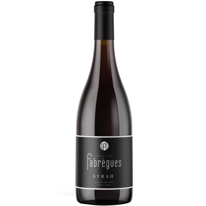 Sélection Fabrègues 2020 Syrah Pays d'Oc - Vin rouge de Languedoc