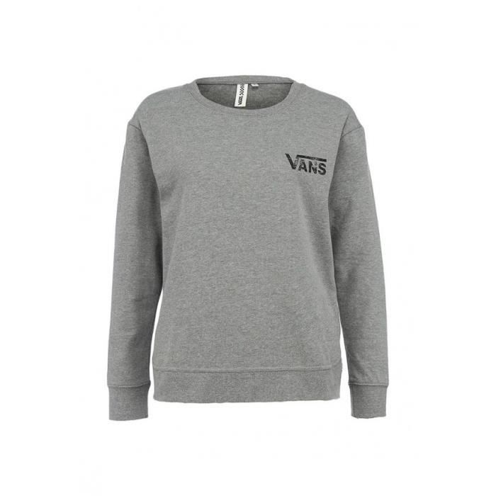 VANS Sweat G Star Crossed Crew Enfant Fille - Gris bruyère