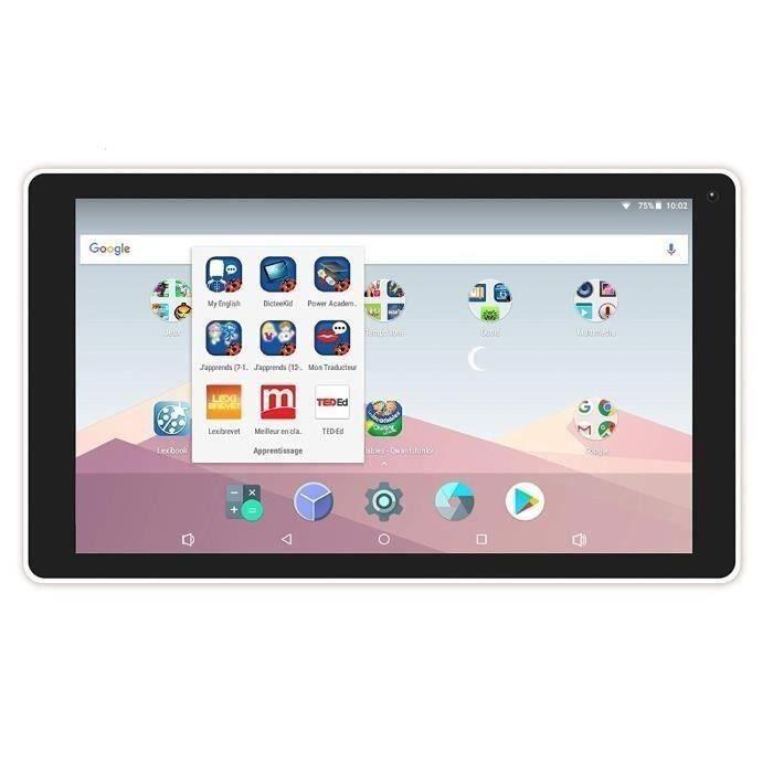 LEXIBOOK - LexiTab 10- - Tablette enfant avec éducateurs, jeux et contrôle parental - Paquet de protection d'inclusion