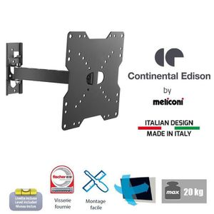 CONTINENTAL EDISON Support TV orientable TV 22-40'' VESA 200*200