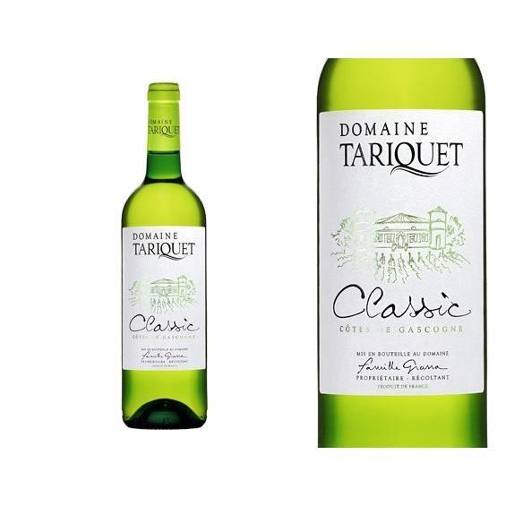 Domaine du Tariquet 2019 Blanc Colombard - Vin blanc des Côtes de Gascogne