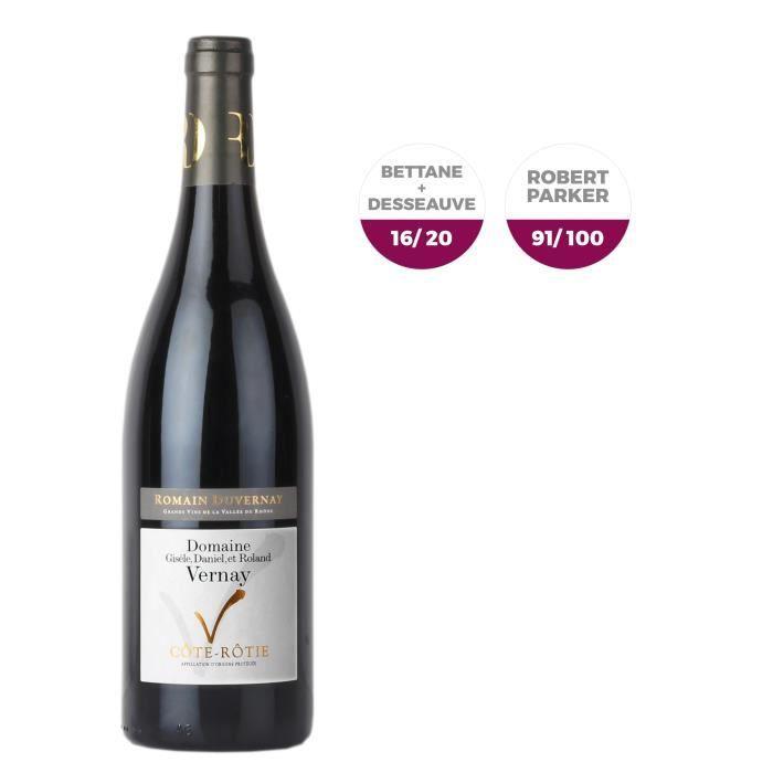 Domaine Vernay 2015 Côte-Rôtie - Vin rouge de la Vallée du Rhône