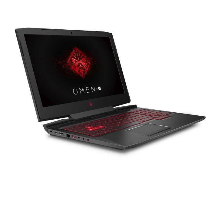 "Hp Pc Portable Gamer Omen 15ce0150nf 15,6"" G Sync Ram 8Go Core i5 7300 Stockage 128Go Ssd + 1To Hdd Nvidia Gtx 1060"