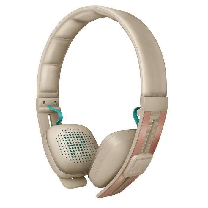 Wiko Casque bluetooth Wishake Beige