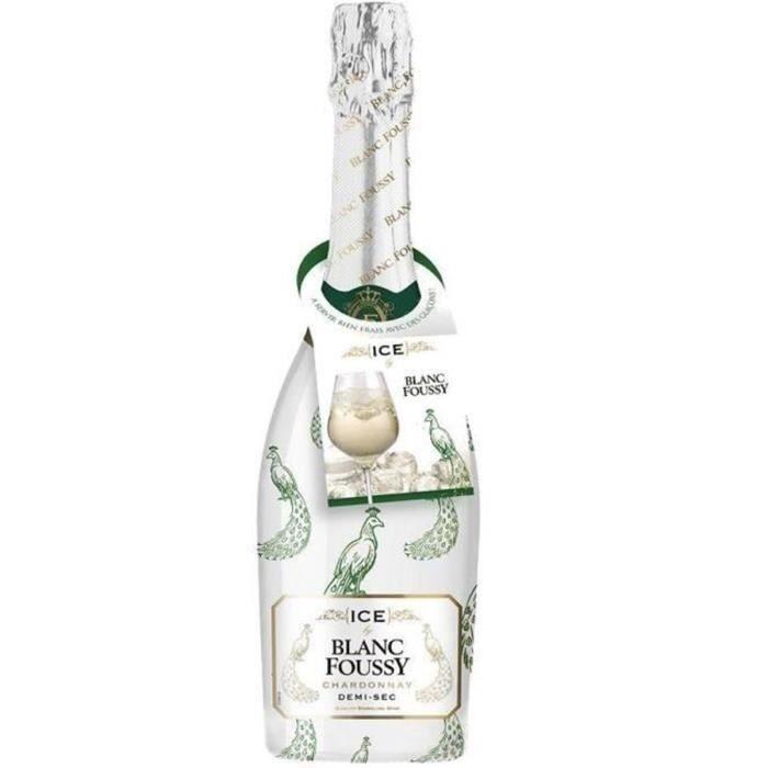 Blanc Foussy Ice - Vin effervescent
