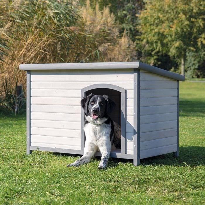 Natura - Niche pour chiens - Classic à toit plat