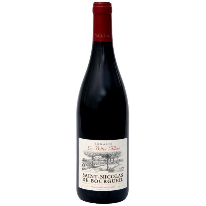 Domaine Les Belles Allées 2019 Saint-Nicolas de Bourgueil - Vin rouge de la Val de Loire