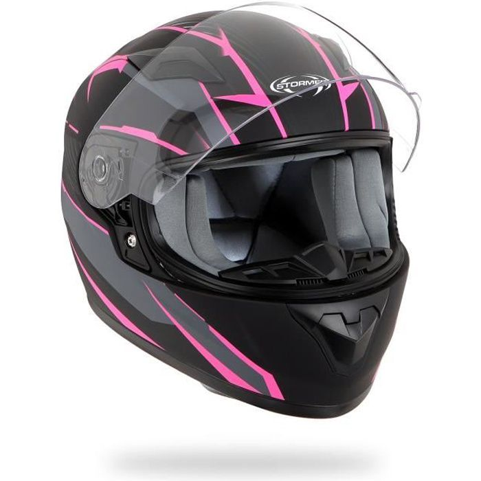 STORMER Casque Kid Rule Décor Rose